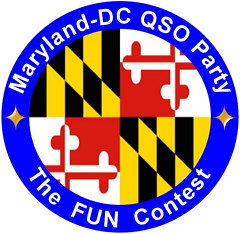 "the logo for the Maryland-DC QSO Party ""The Fun Contest"""