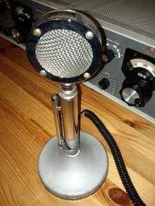 An Astatic microphone