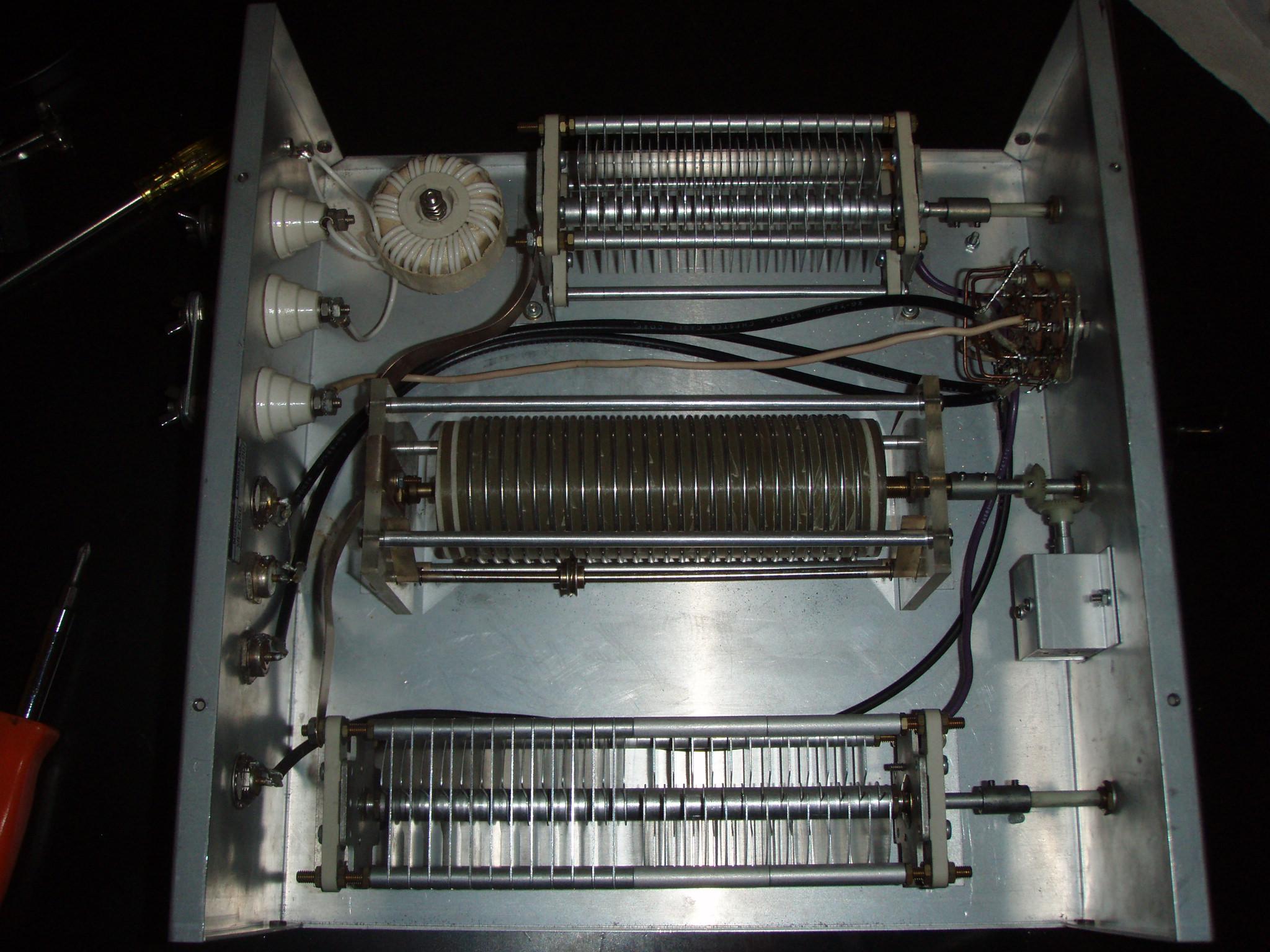 Antenna tuner sa-2040 amateur-d heathkit brand, heath co. ; b.