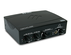 The EMU-0204 USB sound interface