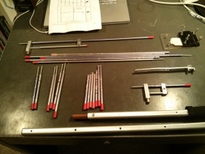 The arrow antenna, ready for packing.
